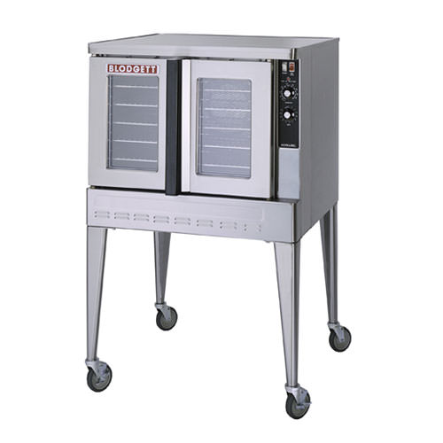 Blodgett ZEPH-100-E-SGL Single Standard Depth Full Size Electric Convection Oven - 1Ph, 240V