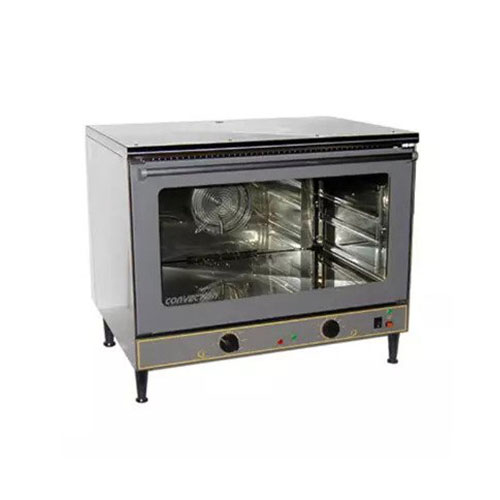 Equipex FC-100 Full Size Countertop Manual Electric Convection Oven - 1Ph, 208V
