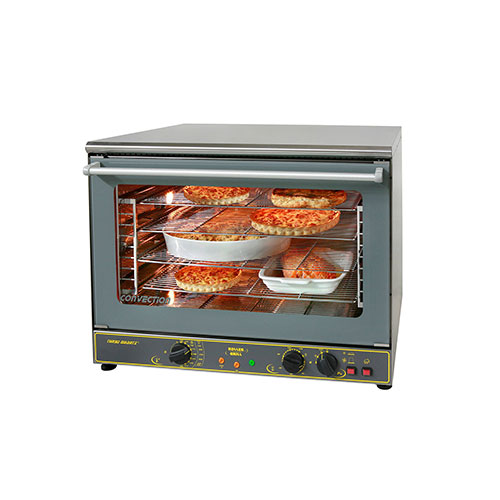 Equipex FC-100G Full Size Countertop Manual Electric Convection Oven - 1Ph, 240V