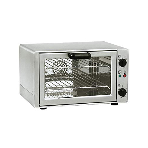 Equipex FC-26 Quarter Size Countertop Manual Electric Convection Oven - 1Ph, 240V