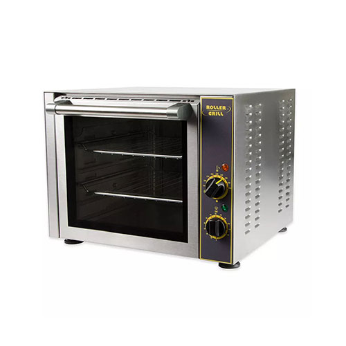 Equipex FC-280 Quarter Size Countertop Manual Electric Convection Oven - 1Ph, 110V