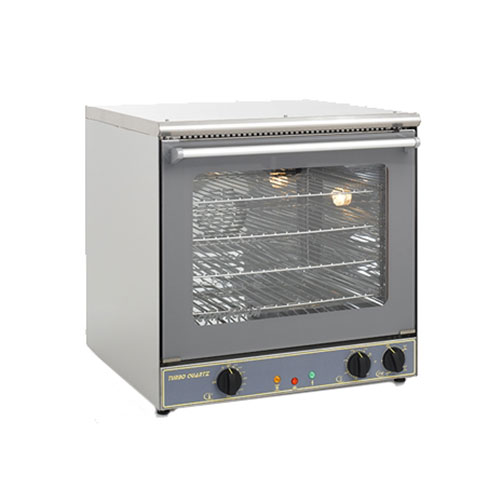 Equipex FC-60G Half Size Countertop Manual Electric Convection Oven - 1Ph, 110V