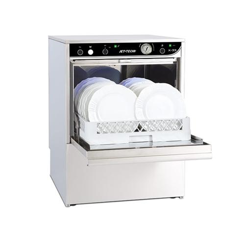 Jet Tech X-33 Low Temperature 37 Racks / Hour Undercounter Dishwasher