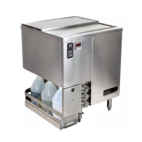 Jet Tech XG-37 Low Temperature 26 Racks / Hour Rotary Glasswasher