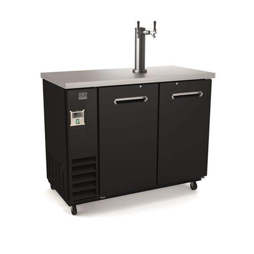 Kelvinator KCHBBD2D1T 50″ Double Door Beer Dispenser Refrigerator With Single Tab Tower