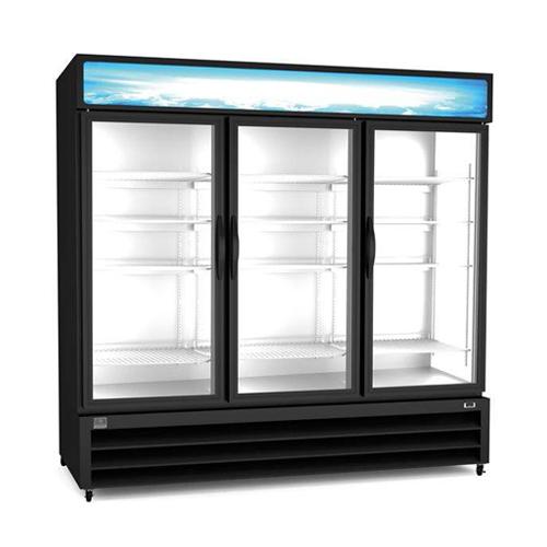 Kelvinator KCHGM72R 81'' 3 Door Glass Refrigerator Merchandiser