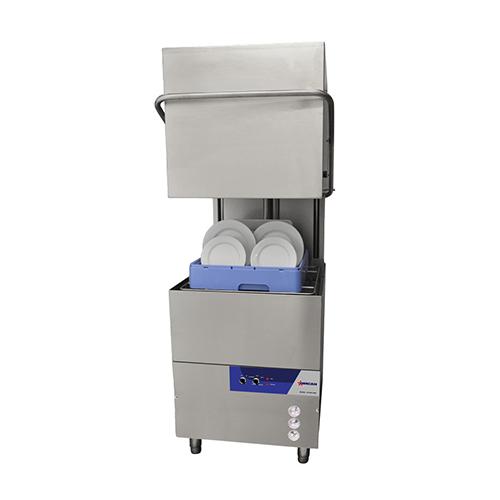 Omcan CD-GR-1500 High Temperature 58 Racks / Hour Door Type Dishwasher - 1Ph, 240V