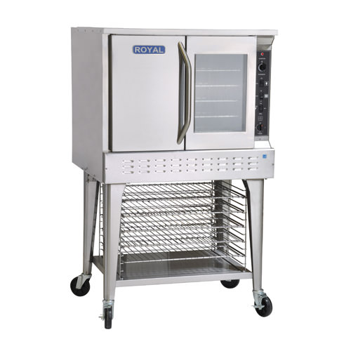 Royal RECO-1 Single Standard Depth Full Size Electric Convection Oven - 1Ph, 240V