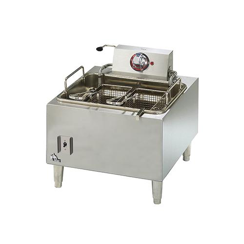 Star Max 301HLF 15 Lb Single Pot Countertop Electric Fryer - 1Ph, 240V