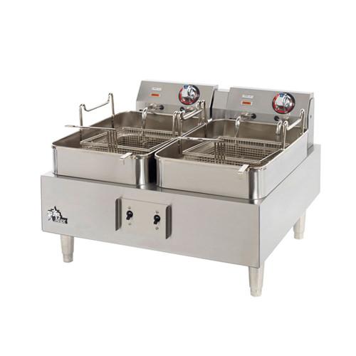 Star Max 530TF 30 Lb Twin Pot Countertop Electric Fryer - 1Ph, 240V