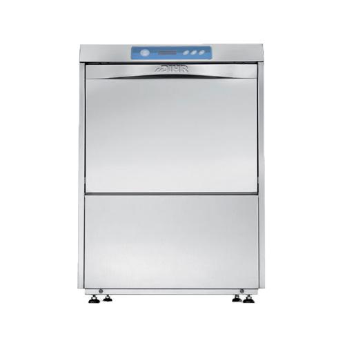 DIHR DS50 High Temperature 30 Racks / Hour Undercounter Dishwasher
