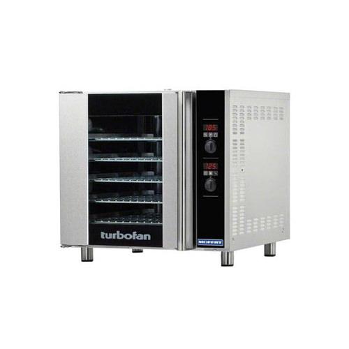 Blue Seal E33D5 Half Size Countertop Digital Electric Convection Oven - 1Ph, 240V