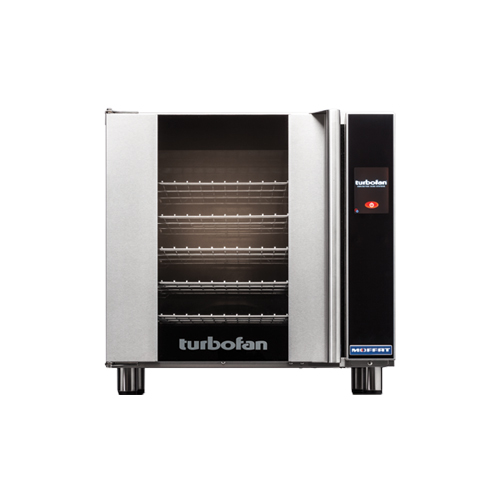 Blue Seal E33T5 Half Size Countertop Touch Screen Electric Convection Oven - 1Ph, 208V