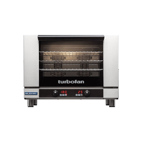 Blue Seal E28D4 Full Size Countertop Digital Electric Convection Oven - 1Ph, 208V