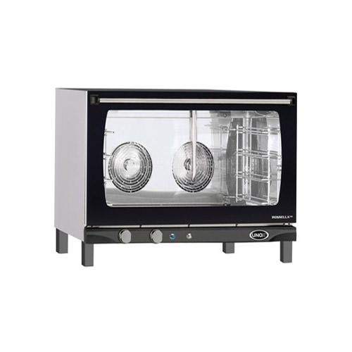 Unox XAF-193 LineMiss Full Size Countertop Manual Electric Convection Oven With Humidity