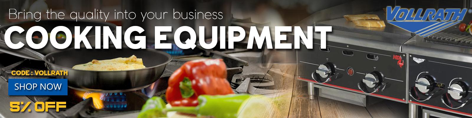 Vollrath Cooking Equipment, Commercial Restaurant Equipment