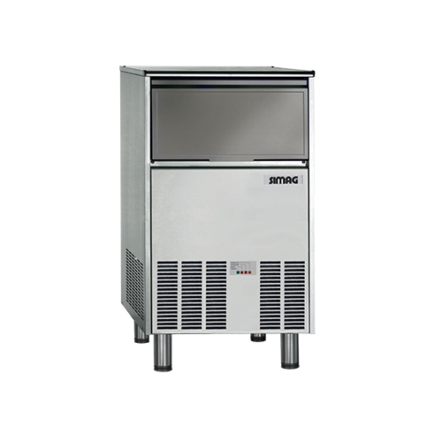 Simag SCH50A 107 Lb Undercounter Full Cube Ice Machine - By Scotsman