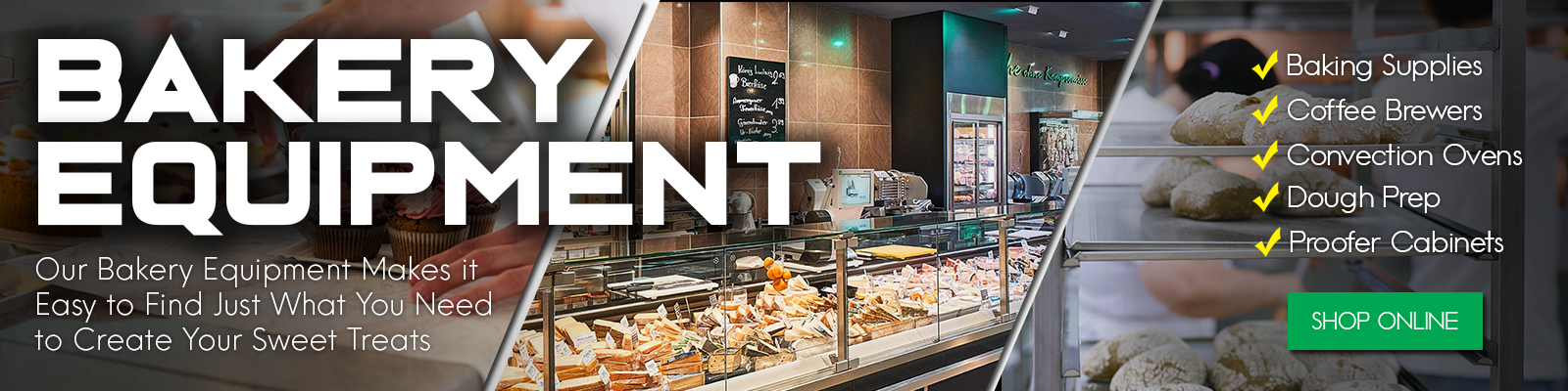 Commercial Bakery Equipment, Commercial Restaurant Equipment