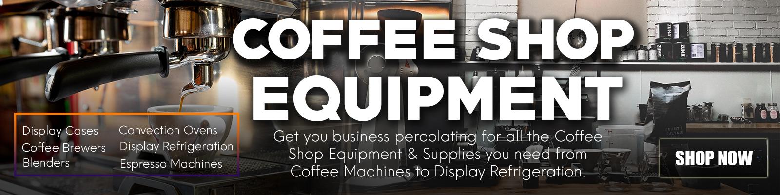 Commercial Coffee Shop Equipment, Commercial Restaurant Equipment