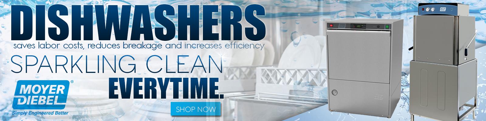 Moyer Diebel Commercial Dishwasher, Commercial Restaurant Equipment