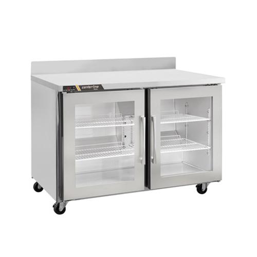 Centerline CLUC-36R-GD-WT 36″ 2 Door Glass Worktop Refrigerator