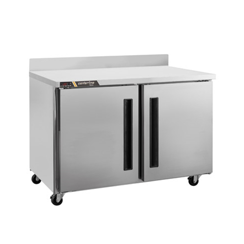 Centerline CLUC-48F-SD-WT 48″ 2 Door Worktop Freezer