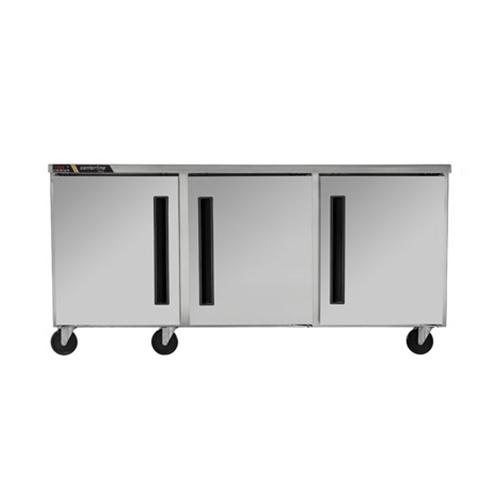 Centerline CLUC-72F-SD 72″ 3 Door Undercounter Freezer