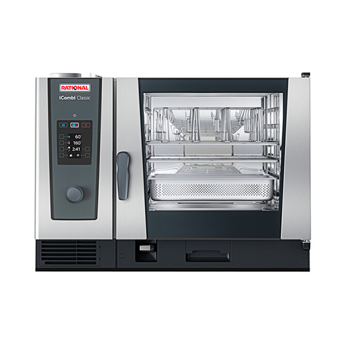 Rational iCombi Classic ICC-6-FULL LM200CG 6 Pan Full Size Natural Gas Combi Oven