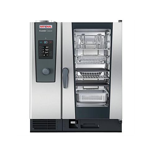 Rational iCombi Classic ICC-10-HLAF LM200DG 10 Pan Half Size Natural Gas Combi Oven