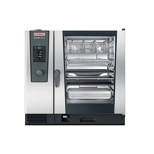 Rational iCombi Classic ICC-10-FULL LM200EG 10 Pan Full Size Propane Gas Combi Oven
