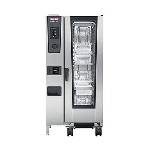 Rational iCombi Classic ICC-20-HALF LM200FG 20 Pan Half Size Natural Gas Combi Oven