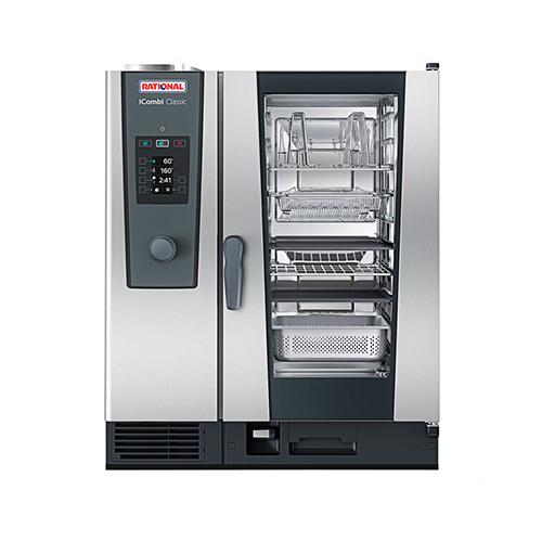 Rational iCombi Classic ICC-10-HALF-E LM200DE 10 Pan Half Size Electric Combi Oven - 3Ph, 208V