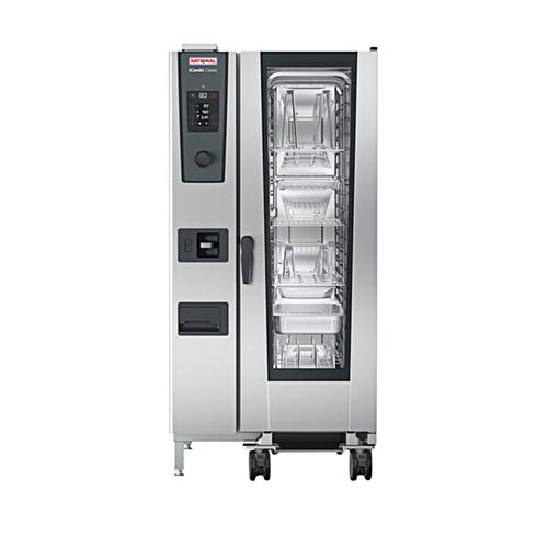 Rational iCombi Classic ICC-20-HALF-E LM200FE 20 Pan Half Size Electric Combi Oven - 3Ph, 240V