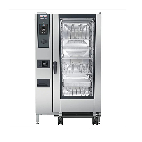 Rational iCombi Classic ICC-20-FULL LM200GG 20 Pan Full Size Propane Gas Combi Oven
