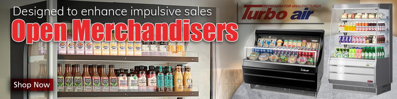 Commercial Open Air Merchandisers Refrigeration, Commercial Open Air Merchandiser