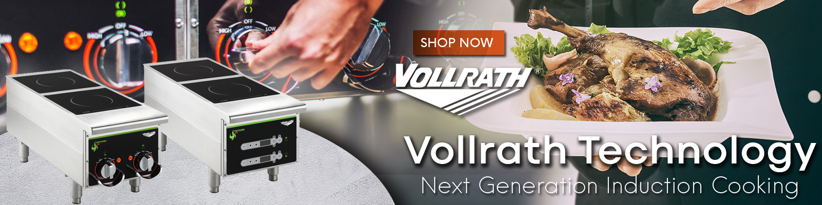 Vollrath Commercial Induction Cookers, Vollrath Cooking Equipment